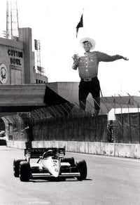 Dallas Grand Prix at Fair Park (1984 File Photo/The Dallas Morning News)