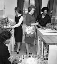 "<p><span style=""font-size: 1em; background-color: transparent;"">In March 1963, students participate in a home economics class at West Virginia State College at Institute, W.Va.</span></p>(File Photo/The Associated Press)"
