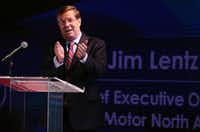 """Toyota Motor North America CEO Jim Lentz has said that it would be a """"nightmare"""" scenario if the U.S. had fuel efficiency standards that varied by state.(Andy Jacobsohn/Staff Photographer)"""