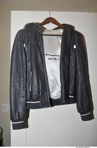 The offending ostrich jacket.(Special Counsel's Office)