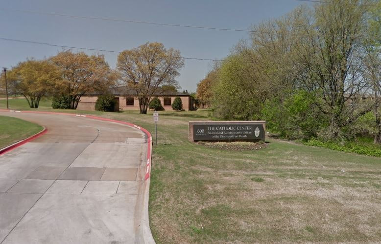 Google Maps Fort Worth Diocese pastor resigns