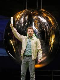 "Ben Bliss as Robert Wilson in ""Doctor Atomic"" at the Santa Fe Opera.(Ken Howard/Santa Fe Opera)"