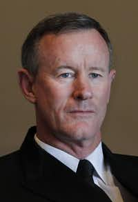 Bill McRaven took over as UT System chancellor in 2015 but stepped down in December citing his health.(Kye R. Lee/Staff Photographer)