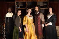 From left: Paapa Essiedu as Otto, Hayley Squires as Cornelia, Anya Taylor-Joy as Nella, Alex Hassell as Johannes and Romola Gara as Marin in<i> The Miniaturist</i>, coming to PBS on Sept. 9, 2018. (Laurence Cendrowicz/The Forge/BBC  )
