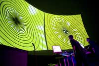 A 2009 photo of NoiseFold (Cory Mercalf, left, and David Stout) performing at Gates Planetarium at the Denver Museum of Nature & Science. (Joshua Lawton /Special Contributor )