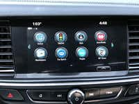 Apps on the touch screen of the 2018 Buick Regal GS(Jim Rossman)