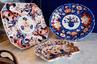 With grandmothers and a mother who love dinnerware, Whitman says it was no surprise that she does, too. Some of her favorite pieces are those that have been handed down to her.  (Ben Torres/Special Contributor)