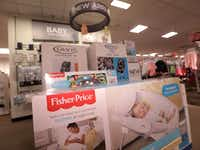 The new baby section at the Collin Creek Mall J.C, Penney in Plano.(Jason Janik/Special Contributor)