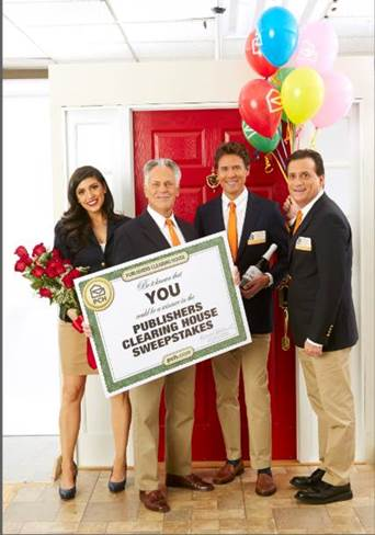 Prize Patrol people from Publishers Clearing House are real
