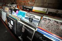 The 2,500-record collection is provided by Good Records and consists of both local and national artists at Off The Record in Deep Ellum(Alexandra Olivia/Special Contributor)