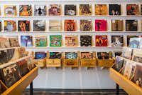 Vinyl albums for sale at Spinster Records in Oak Cliff(Carter Rose/Special Contributor)