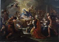 """Paolo de Matteis 'The Adoration of the Shepherds,' 1680-1728(Dallas Museum of Art/<p><span style=""""font-size: 1em; background-color: transparent;"""">The Karl and Esther Hoblitzelle Collection, gift of the Hoblitzelle Foundation</span></p>)"""
