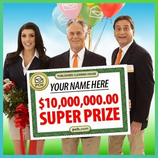 Publishers clearing house login