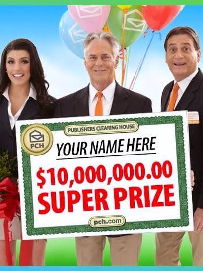 Prize Patrol people from Publishers Clearing House are real  So are
