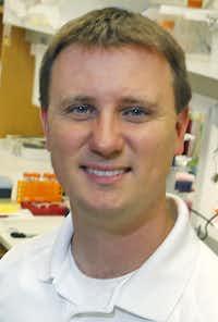 Steven Gray, Ph.D.(Louis DeLuca/Staff Photographer)