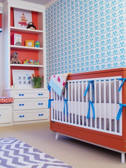 Oh Baby Dallas Mom Set Out To Design A Nursery That S Bright Cheery And Functional Gardening News