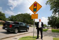 Attorneys Russell Bowman (pictured) and Scott Stewart are challenging the City of Irving and several other cities in the state on the use of red light cameras on the grounds of constitutionality and violation of state law. (Tom Fox/Staff Photographer)