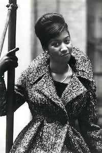 Aretha Franklin, during the Columbia Records years, 1960-1965.(Columbia Records)