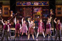 <p>The  cast  performs in the  national tour of <i>School  of  Rock</i>, presented by Dallas Summer Musicals and Broadway Across America at Fair Park Music Hall Aug. 15-26 and Bass Hall in Fort Worth Aug. 28-Sept. 2. (Photo by Matthew Murphy)<br></p>