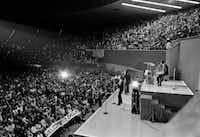 The Beatles performed at Memorial Auditorium in Dallas on Sept. 18, 1964, on their second U.S. tour.(1964 File Photo/The Associated Press)