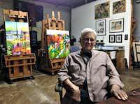 Bob Nunn in his Continental Gin Studio this week(Robert Wilonsky/Staff writer)
