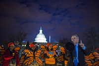 <p>Efforts in Congress by both parties to replace the DACA program with legislation have failed. Senate Minority Whip Dick Durbin, D-Ill., is shown speaking at a rally supporting the Dream Act in Washington on Jan. 21, 2018.</p>(Zach Gibson/The New York Times)