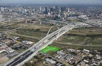 The Dallas County properties for sale include a development site on Beckley Avenue in Oak Cliff.(CBRE)