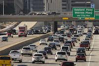Plano faces big traffic challenges as booming suburbs to the north create additional pass-through congestion. An analysis of annual traffic enforcement shows three of every five stops involved a non-Plano resident. That points to the real growth in Collin County -- Frisco, Prosper, McKinney, Celina and Allen, whose residents pass through Plano on their way to jobs in Dallas.<br>(Smiley N. Pool/Staff Photographer)