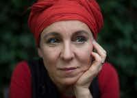 Olga Tokarczuk(Maciek Nabrdalik/The New York Times)