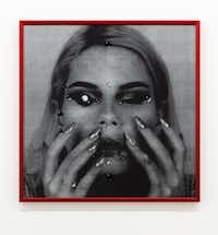 Isabel Legate, <i>Untitled C Print with Red Frame</i>.(Isabel Legate/And Now)