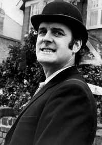 John Cleese, one of the stars of  <i>Monty Python's Flying Circus. </i>(Popperfoto)