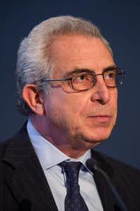 Ernesto Zedillo, former president of Mexico.(Andrew Burton/Getty Images)