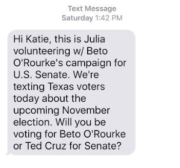 A lawmaker (Democrat) accuses Ted Cruz (Republican) of