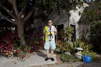 The writer David Ritz at home in Los Angeles, Oct. 30, 2014. (EMILY BERL/NYT)