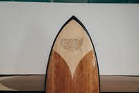 The rivers that make up America's landscape are represented on the wakesurf board made in Texas by Jarvis Boards. Even its price is patriotic: $1,776.(Jarvis Boards)