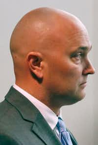 "<p>Roy Oliver&nbsp;<span style=""font-size: 1em; background-color: transparent;"">is being tried on a murder charge and two aggravated assault charges.</span></p>(Rose Baca/Staff Photographer)"