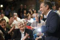 "Sen. Ted Cruz addresses supporters during a campaign event at Babes Chicken Dinner House on Tuesday, Aug. 14, in Arlington.&nbsp;(Smiley N. Pool/<p><span style=""font-size: 1em; background-color: transparent;"">Staff Photographer</span></p>)"