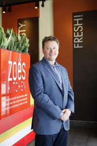 Zoe's Kitchen president and CEO Kevin Miles at a Zoe's Kitchen, on Wednesday, May 28, 2014 in Addison. Ben Torres/Special Contributor(Ben Torres/Special Contributor)