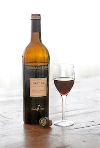 "<p>A glass of<span style=""font-size: 1em; background-color: transparent;"">Gonzalez Byass ""Nectar"" Pedro Ximenez Sherry</span></p>(Louis DeLuca/Staff Photographer)"
