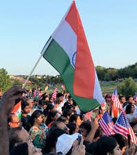 The Mahatma Gandhi Memorial hosted a celebration of India's Independence Day on Aug. 15. Photo by Deborah Fleck/Staff