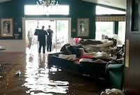 "<p>Residents lay on sofas in August 2017 waiting to be evacuated from the Cypress Glen senior care facility in Port Arthur. The facility was inundated with water from Hurricane Harvey.  Cypress Glen is owned by the Senior Care Centers company, based in Dallas. <span style=""font-size: 1em; background-color: transparent;"">The Texas Health & Human Services Commission had reopened its investigation into Cypress Glen and another facility, Lake Arthur Place, also owned by the same company.</span></p>(Matt Pearce/Los Angeles Times)"