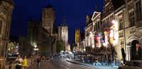 The university city of Ghent has all the medieval charm of Bruges with a livelier urban atmosphere. (Travis Pinson/Special Contributor)