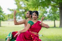 <p>Tejas Dance founder and director Bhuvana Venkatraman and dancer-choreographer Chintan Patel will perform their piece <i>Ardhanareeshwara</i>. (Photo by Siddhant Marar) </p>