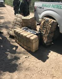 "<p><span style=""color: rgb(9, 9, 25); font-family: Lora, Georgia, serif; font-size: 1em; background-color: transparent;"">Border Patrol seized nearly 1,000 pounds of marijuana in the Rio Grande Valley from Aug. 17 to Aug. 20.</span></p>(U.S. Customs and Border Protection)"
