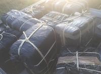 Border Patrol seized 500 pounds of marijuana Wednesday morning.(U.S. Customs and Border Patrol)