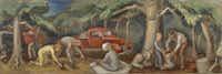 Otis Dozier's <i>Gathering Pecans</i>(Amon Carter Museum of American Art)