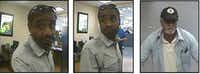 <p>Plano police are looking for two men who withdrew money from a victim's bank account in 10 North Texas cities in April.</p>(Plano Police Department)