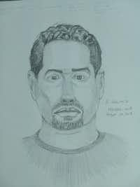 A sketch of a suspect in the sexual assault of a woman on Aug. 19.(Dallas Police Department)