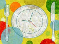 With intermittent fasting, you consciously decide when to fill your plate — and mostly, when not to.(Michael Hogue/Staff)