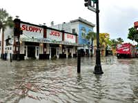 <div>Areas like Florida's Key West are in more danger from both rising sea levels and major storms, as the gradually rising coastlines create quicker and more devastating floods.</div>(Rob O'Neal/The Key West Citizen)